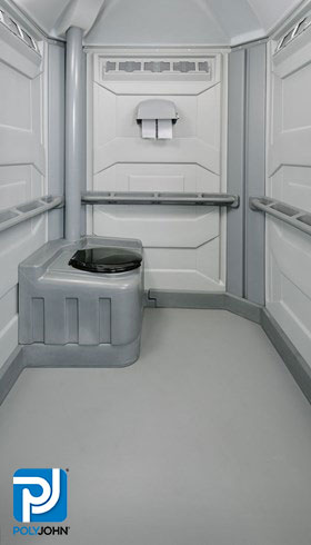 Portable Toilet Rentals - Comfort XL Interior - Portable Restroom, Restroom Trailers, Showers & Sinks, Dumpster Rentals - Permanent and temporary sites and special events.