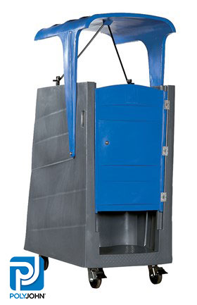 Open Top Construction Portable Toilet Rentals